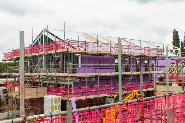 Progressing - the new Fair Havens hospice is being built
