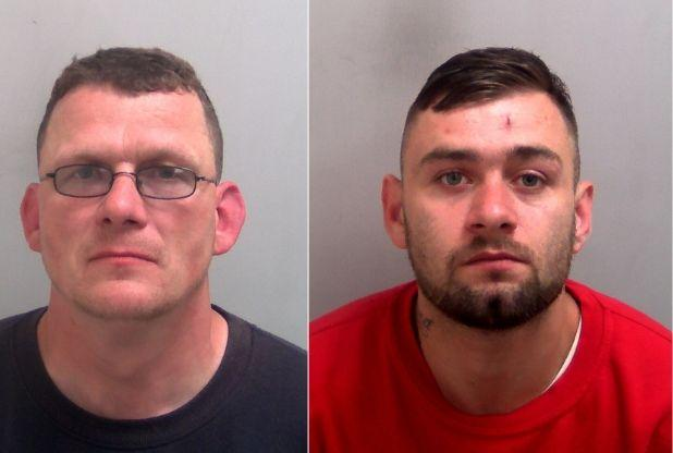 Two men jailed after tying up woman, 70s, and stealing tens of thousands of pounds