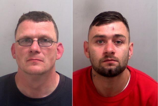 Vicious - Darren Girling and Jamie Langley have been jailed