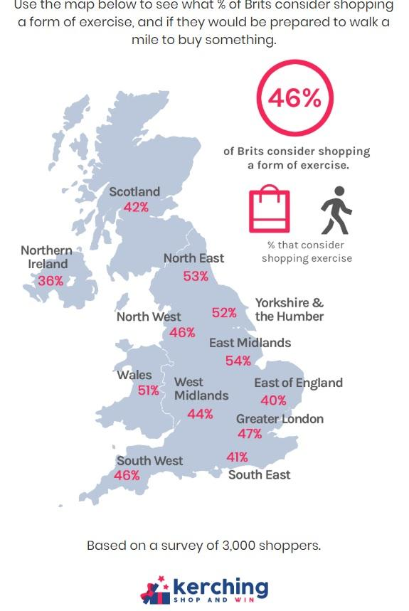 Chelmsford Weekly News: An infographic of shopping habits across the UK