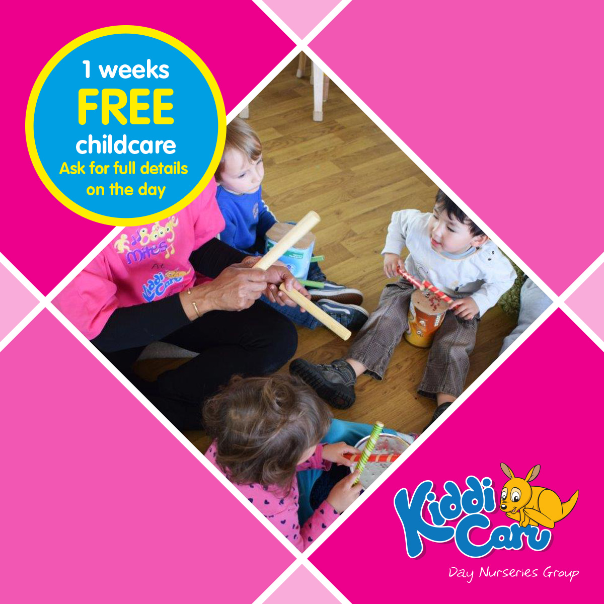 Childcare Open Event at Kiddi Caru Day Nursery and Preschool in Chelmsford