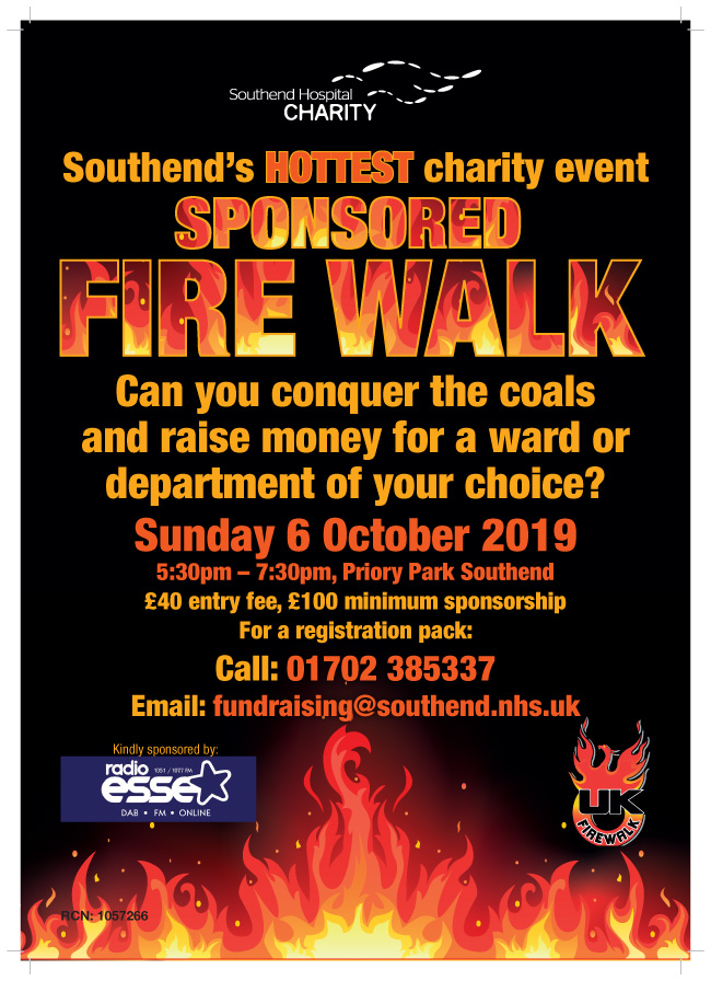 Sponsored Fire Walk