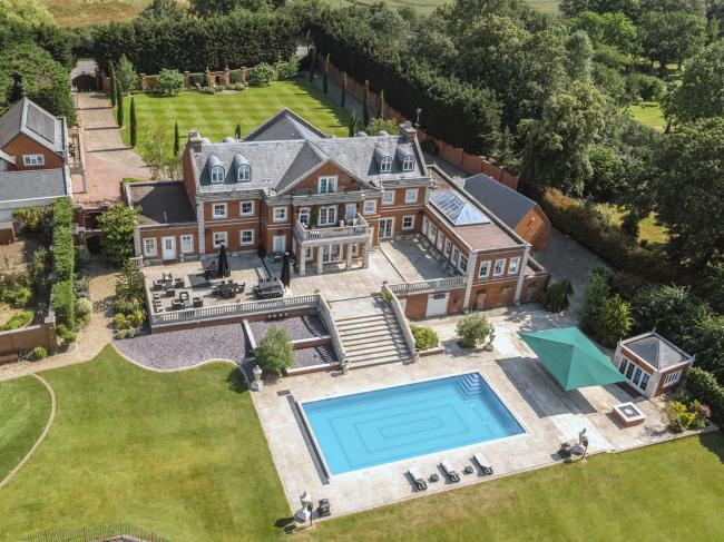 Sprawling pad - former chairman of Billericay Town FC Glenn Tamplin's mansion is now up for sale