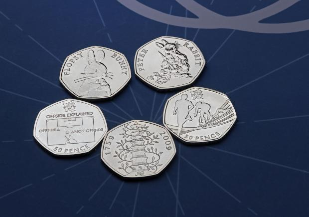 Chelmsford Weekly News: The rarest 50p designs have been revealed