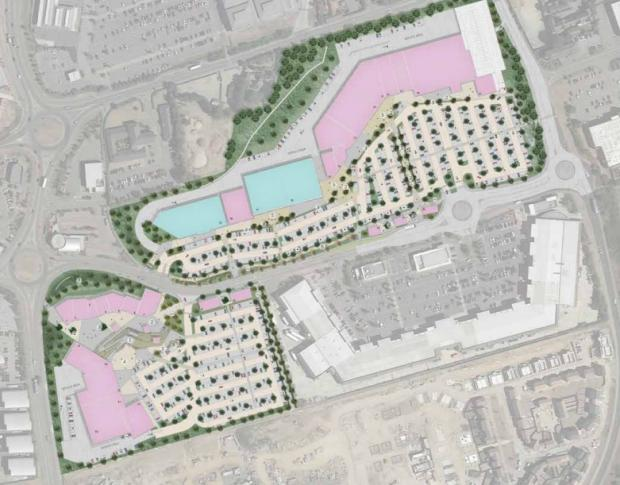 Chelmsford Weekly News: The layout plans for Tollgate Village