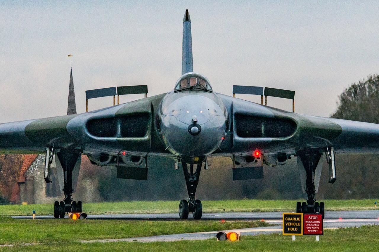 Vulcan is seen on Southend Airport runway - Chelmsford Weekly News