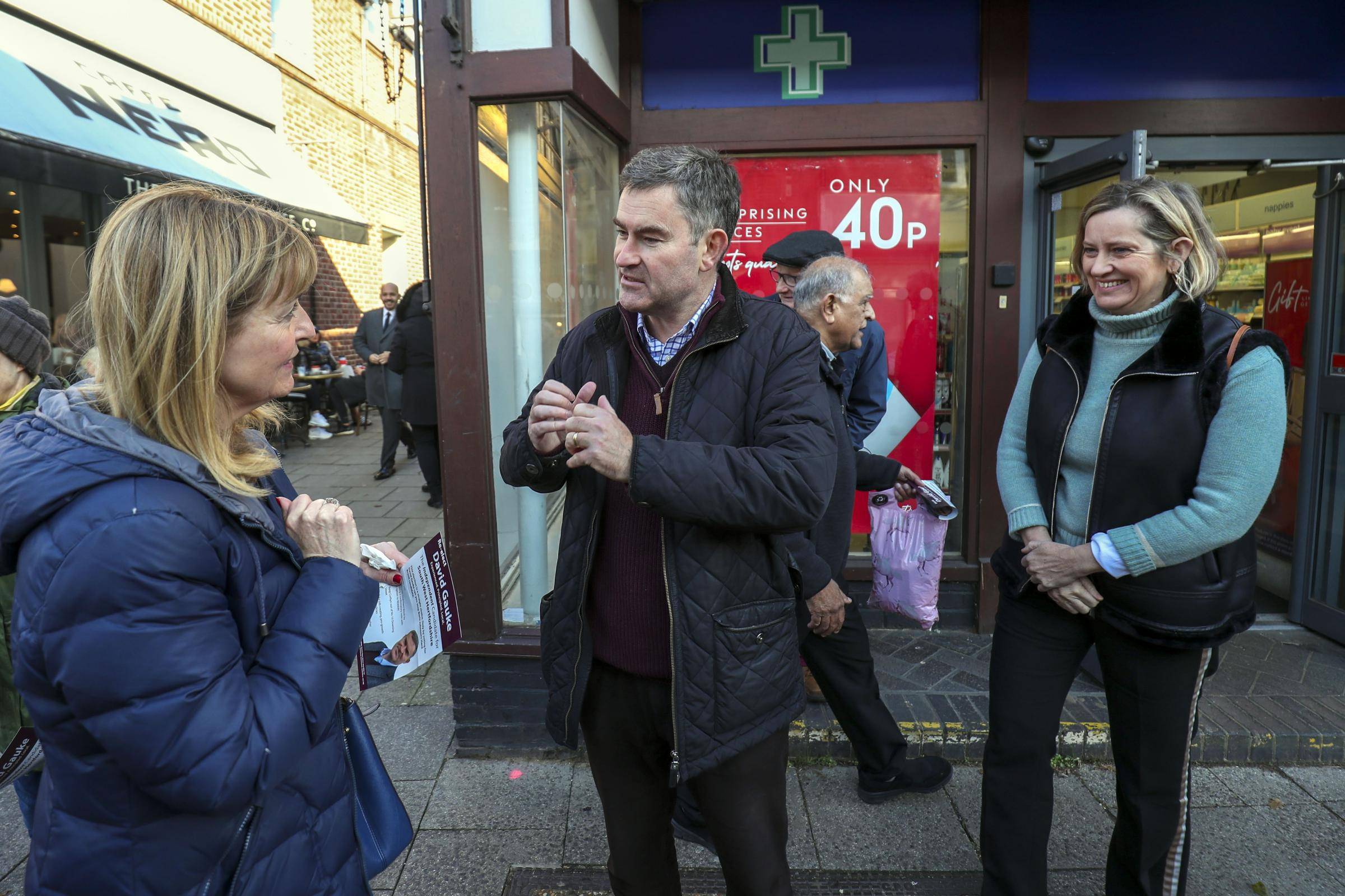 Amber Rudd joins fellow Tory rebel David Gauke on campaign trail - Chelmsford Weekly News