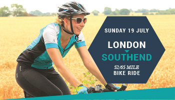 London to Southend bike ride