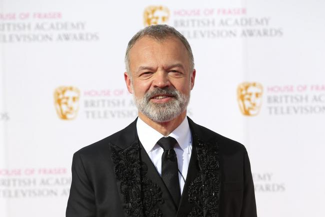 Graham Norton at the Baftas