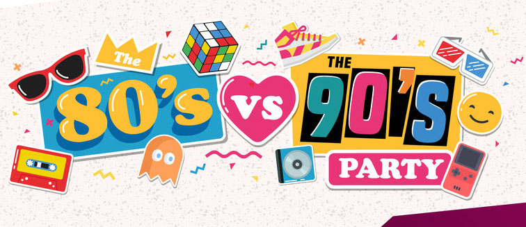 80's v's 90's Tribute Party Night
