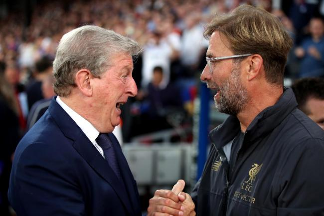 Crystal Palace manager Roy Hodgson (left) says Liverpool are in a great position after 12 Premier League games