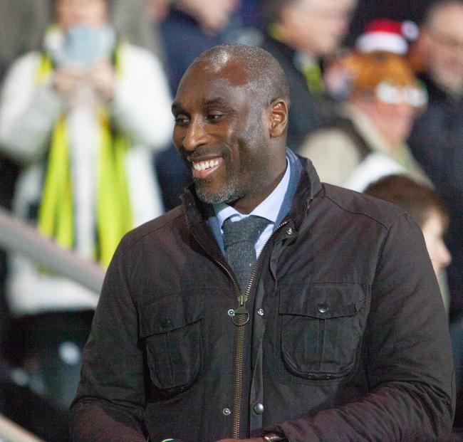 Staying focused - Southend United manager Sol Campbell