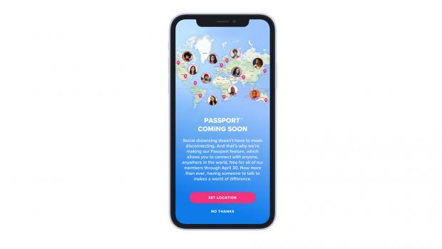 Chelmsford Weekly News: TINDER: The Passport feature has now been rolled out for free to users around the world. Picture: Tinder