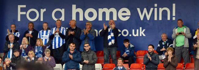 United front - Colchester United fans are hoping to get their football fix again soon Picture: PAGEPIX