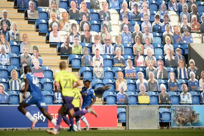 Watching on - Colchester United's home game with Bolton Wanderers will take place behind closed doors, this weekend Picture: RICHARD BLAXALL