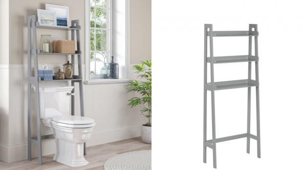 Chelmsford Weekly News: Over-the-toilet units provide a lot more storage space. Credit: Wayfair