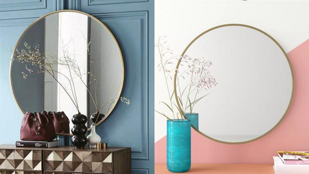 Chelmsford Weekly News: A bigger, more modern mirror will create the illusion of more space. Credit: Wayfair