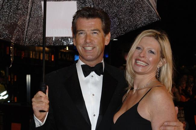 Pierce Brosnan with his daughter Charlotte in 2006