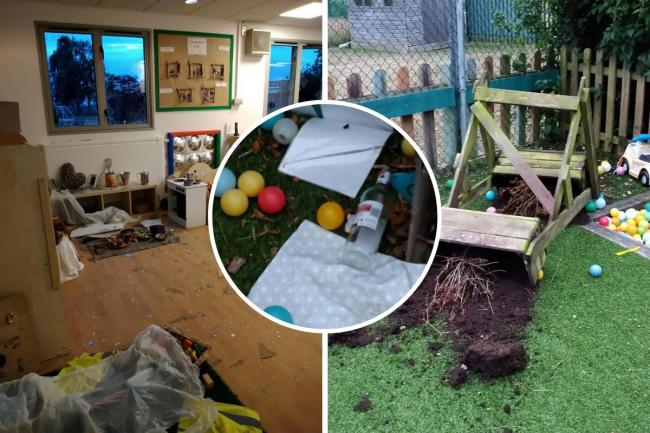 Break in at Nanna's Day Nursery