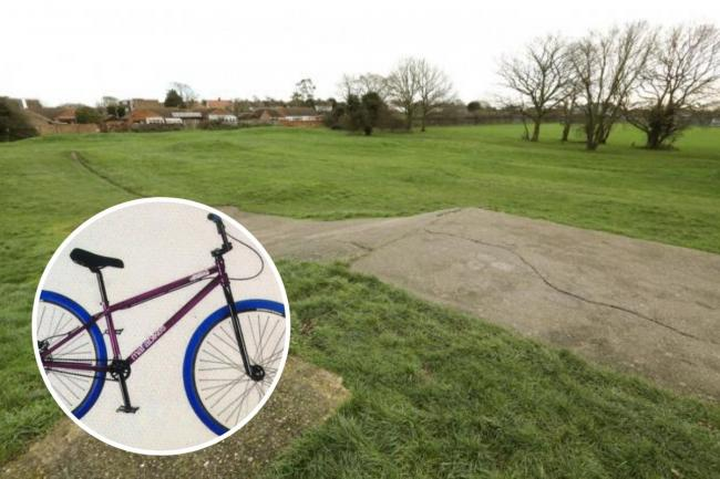 Boy, 13, robbed of bike at knifepoint by gang at BMX track in Clacton