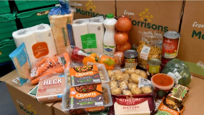 Morrisons unveil several changes to its food box delivery service. Picture: Morrisons