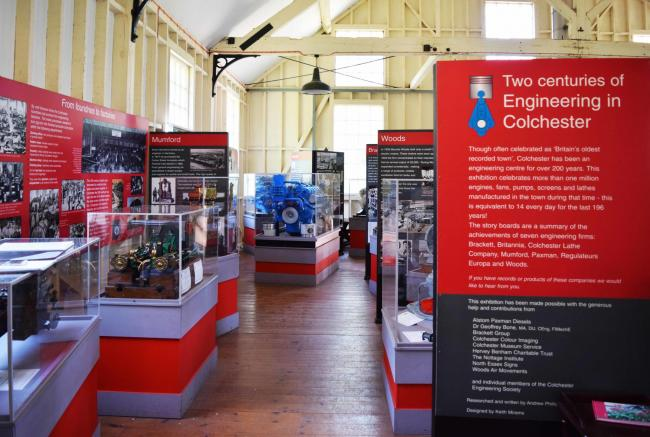 Exhibit - the society's exhibit at the Museum of East Anglian Life in Stowmarket