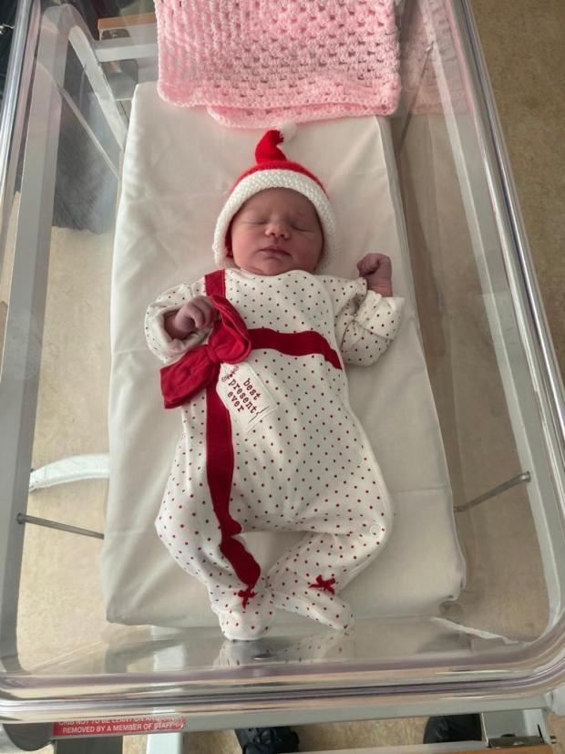 Chelmsford Weekly News: Wynter Clarke, born Christmas 2020