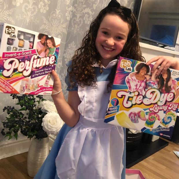 Chelmsford Weekly News: Jessica with her birthday gifts