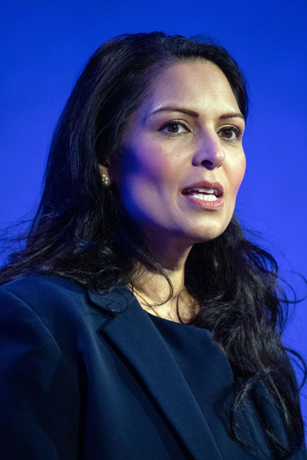 Chelmsford Weekly News: Priti Patel. Picture: PA