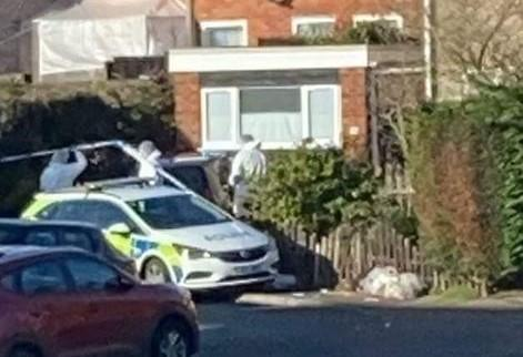 Speculation mounts after crime scene cordon is put in place