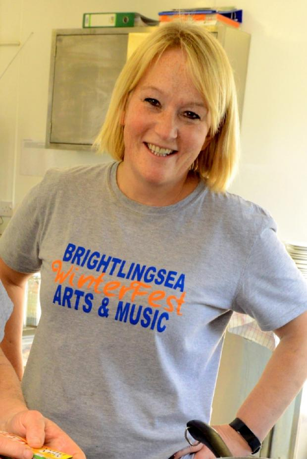 Chelmsford Weekly News: Brightlingsea WinterFest co-founder Alix Sheppard. Photo by Paul Hammond