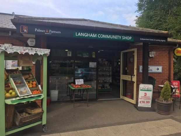 Chelmsford Weekly News: Hub of the village - Langham Community Shop.