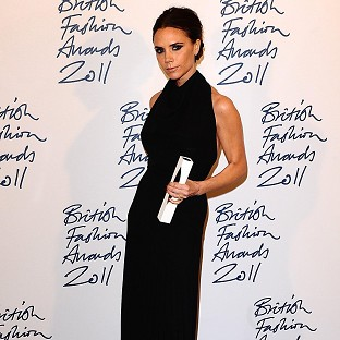 Victoria Beckham tweeted a photo of her traditional British party food