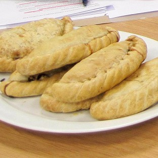 Bakers on march against 'pasty tax'