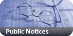 Chelmsford Weekly News: public notices classified