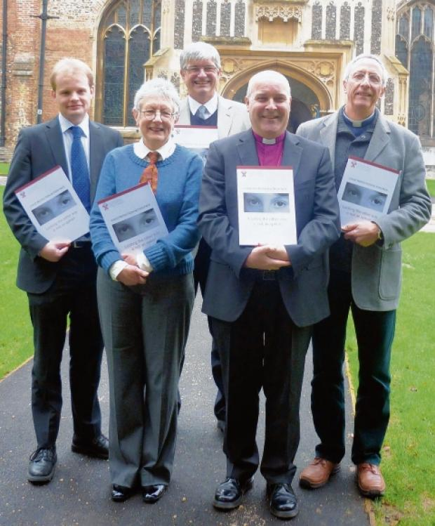 Stephen Cottrell and colleagues launch the pack