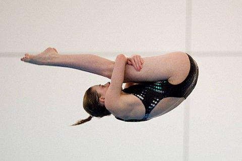 DIVING: Rebecca back in London