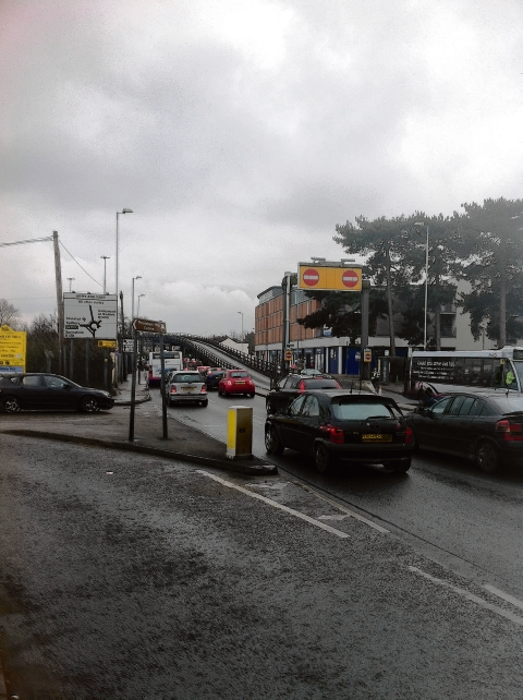 Work delayed at Army and Navy Roundabout