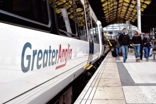 "Greater Anglia said they expect the works to be completed ""sometime next year"""