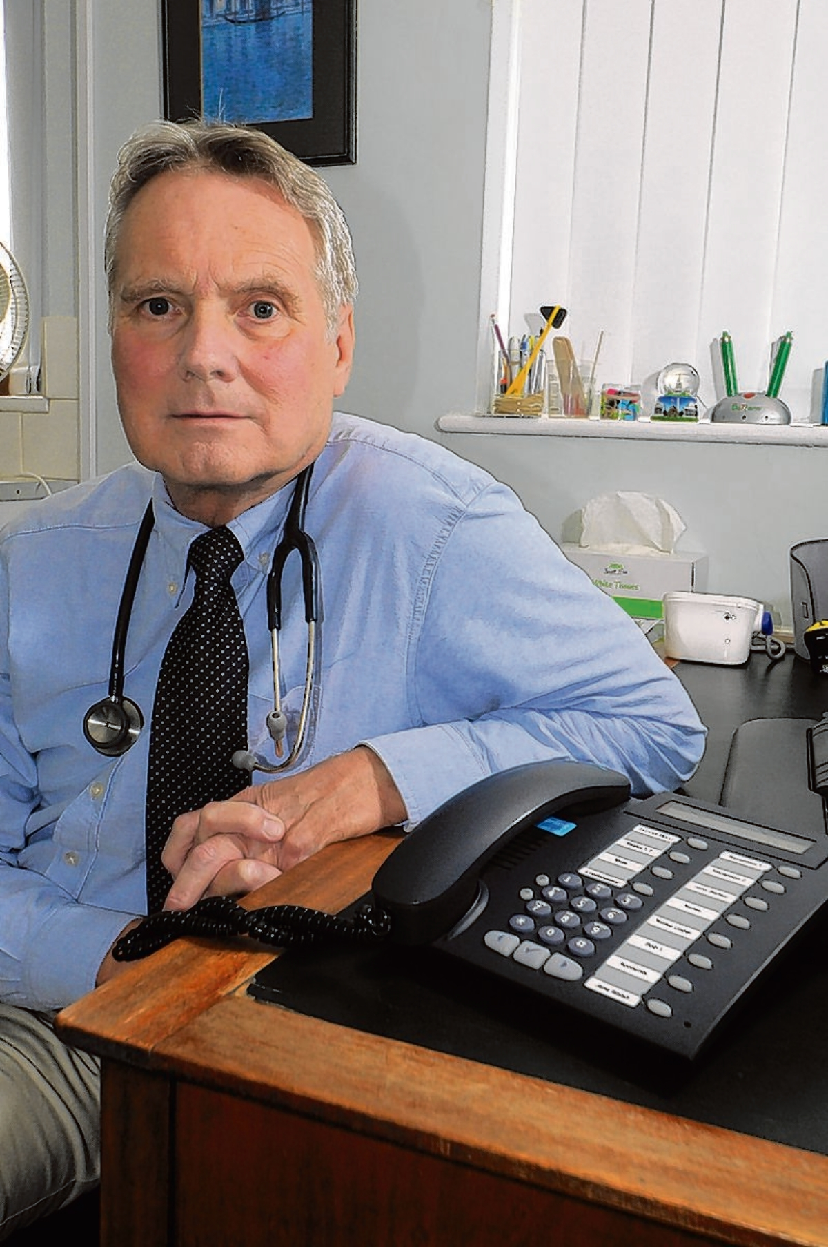 Dr John Cormack, who is now called Dr John Cormack - the Family Doctor who works for the NHS for free