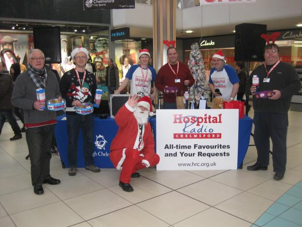 Roadshow in Chelmsford raises £354 for hospital radio
