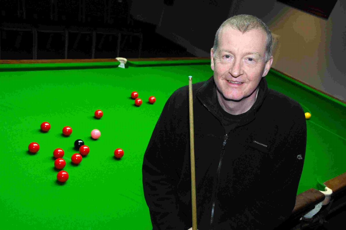 Six time world snooker champion Steve Davis