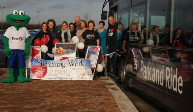 Slimmers in Chelmsford lose combined weight of a bus