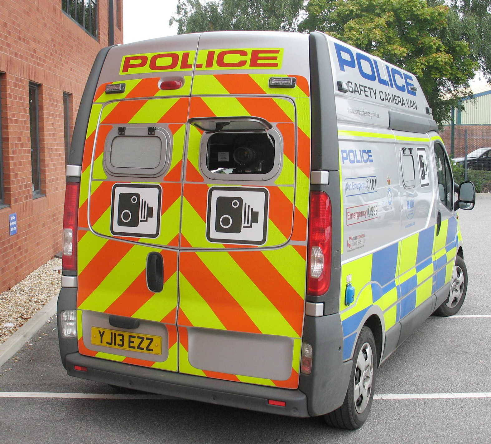 Police minibus stolen outside force's Springfield HQ