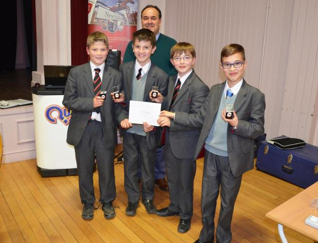 School quiz team set to appear in national final