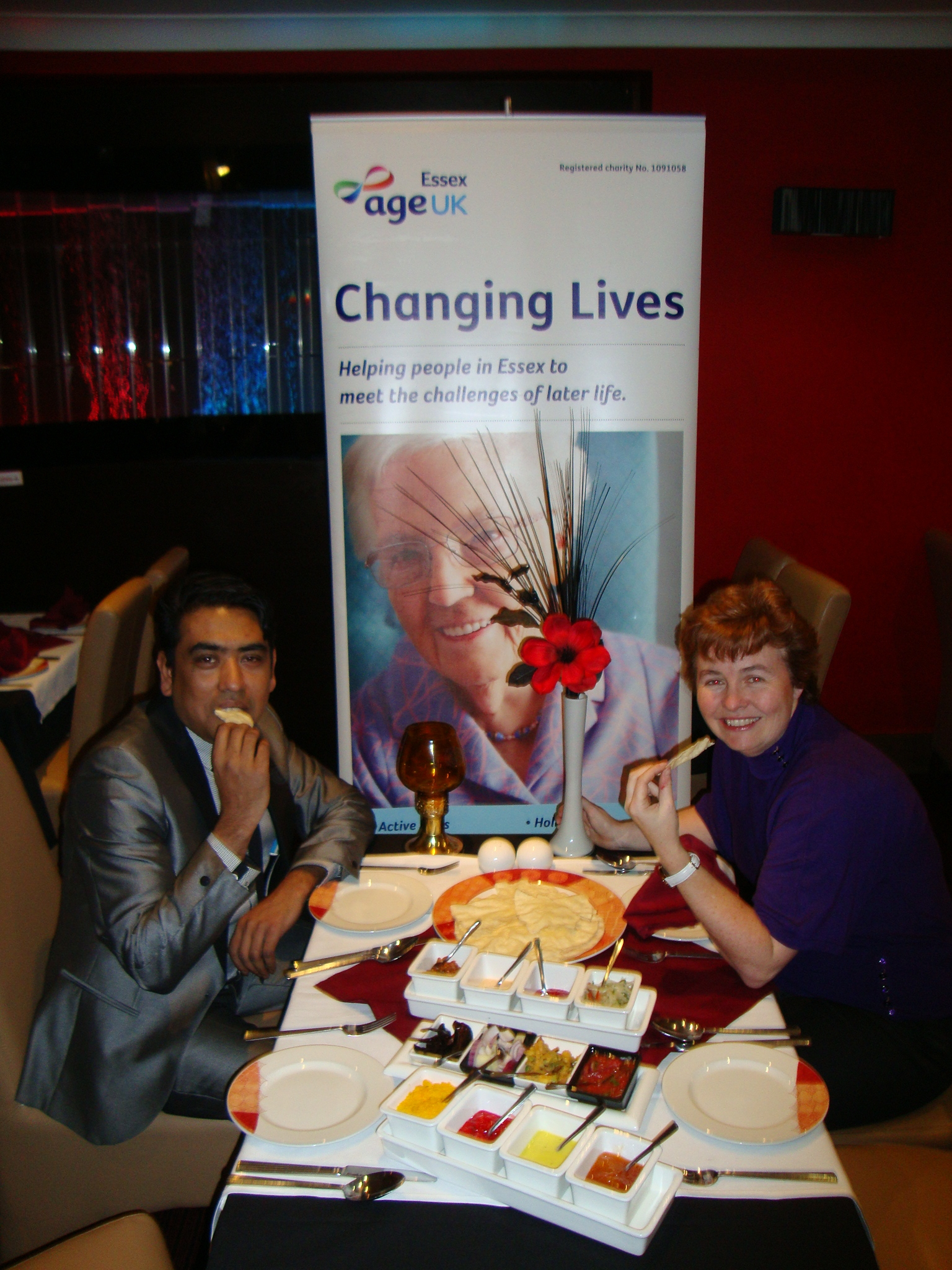 Indian restaurant organises charity