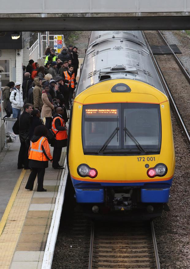 Chelmsford Weekly News: Person hit by train in Brentwood
