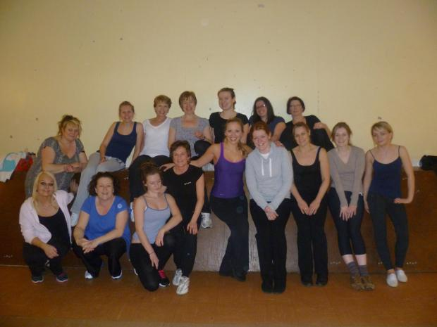 Gemma takes Steps for new dance fitness class