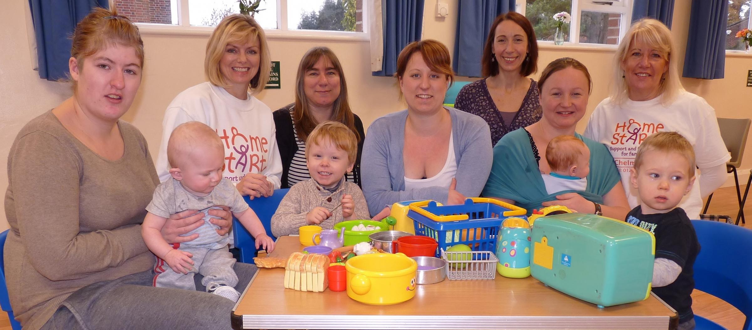 Chelmsford Home-Start staff and users