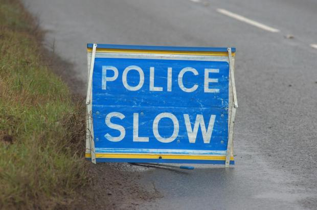 Four vehicle smash closes one lane of the A12 at Shenfield
